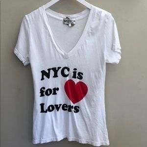 Wildfox NYC is for lovers t shirt